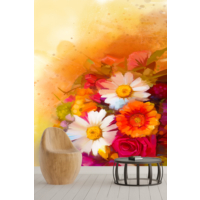 Pidekorasyon Çiçek Bahçesi Duvar Kağıdı - 9090