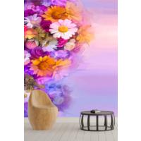 Pidekorasyon Çiçek Bahçesi Duvar Kağıdı - 9092