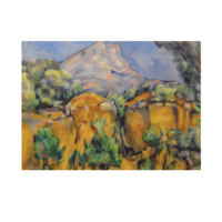 ARTİKEL Mount Sainte-Victoire Seen from the Bibemus Quarry 50x70 cm KS-1197