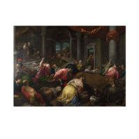 ARTİKEL Jacopo Bassano - The Purification of the Temple 2 50x70 cm KS-1287