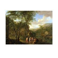 ARTİKEL Jan Both - A Landscape With the Judgement of Paris 50x70 cm KS-1301