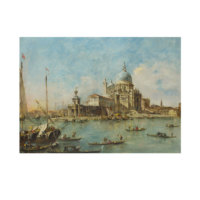 ARTİKEL Francesco Guardi - Venice - The Punta della Dogana 50x70 cm KS-1479