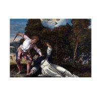 ARTİKEL Bernardino Da Asola - The Death of Saint Peter Martyr 50x70 cm KS-1276