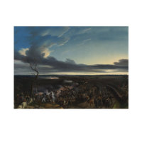 ARTİKEL Emile-Jean-Horace Vernet - The Battle of Montmirail 50x70 cm KS-1464