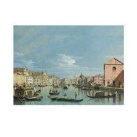 ARTİKEL Bernardo Bellotto - Venice - The Grand Canal facing Santa Croce 50x70 cm KS-1387