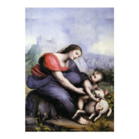ARTİKEL Madonna and Child with the Lamb of God 50x70 cm KS-1023