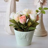 Mia Fiorina Çiçek - Kelebek Yeşil