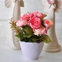 Mia Fiorina Çiçek - Yaprak Lila