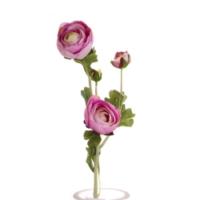 Yedifil 3'lü Tomurcuk Lila Yapay Çiçek