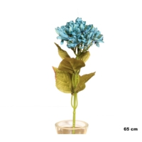 Yedifil Kuru Ortanca Mavi Yapay Çiçek