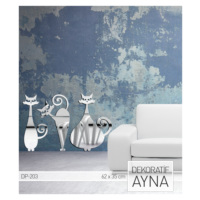 ARTİKEL Royal Cat Ayna Sticker 62,8x35 cm DP-203
