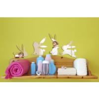 Dekorjinal Ay27 Rabbits Dekoratif Ayna