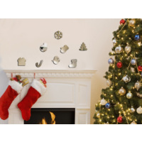 Dekorjinal Ay47 Christmas Dekoratif Ayna