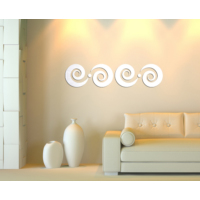 Dekorjinal Ay62 Spiral Dekoratif Ayna