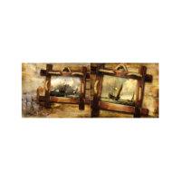 ARTİKEL Storm 2 Parça Kanvas Tablo 60x40 cm KS-663
