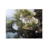 ARTİKEL Romantic House 2 Parça Kanvas Tablo 80x100 cm KS-261