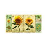 ARTİKEL Sunflowers 2 Parça Kanvas Tablo 80x40 cm KS-642