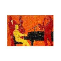 ARTİKEL Jazz Concert 2 Parça Kanvas Tablo 60x40 cm KS-980