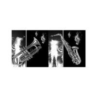 ARTİKEL Musical Instruments 2 Parça Kanvas Tablo 80x40 cm KS-380