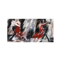 ARTİKEL Tango 2 Parça Kanvas Tablo 80x40 cm KS-691