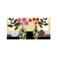 ARTİKEL Unreal 2 Parça Kanvas Tablo 80x40 cm KS-420