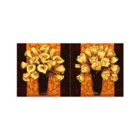 ARTİKEL Fall Effect 2 Parça Kanvas Tablo 80x40 cm KS-891