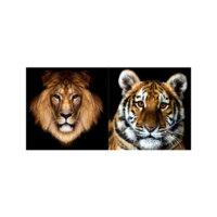 ARTİKEL Wild Life 2 Parça Kanvas Tablo 80x40 cm KS-421