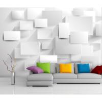 Artmodel 3D Beyaz Poster Duvar Kağıdı PDB-09
