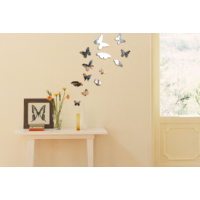 Dekorjinal Ay21 Mixed Butterfly Dekoratif Ayna
