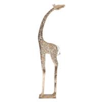 3A Mobilya Aksesuar Uzun Zürafa - Metal Gümüş