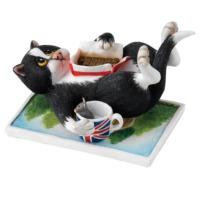 Comic and Curious Cats Take a Break (Bir ara ver) Biblo