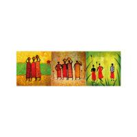 ARTİKEL People 3 Parça Kanvas Tablo 40X120 Cm KS-744