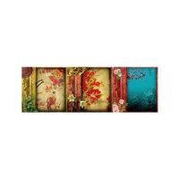 ARTİKEL Happy Summer Day 3 Parça Kanvas Tablo 40X120 Cm KS-616