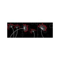 ARTİKEL Red Points 3 Parça Kanvas Tablo 40X120 Cm KS-743