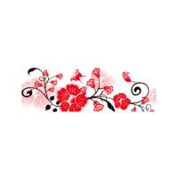ARTİKEL Decorative Flowers 3 Parça Kanvas Tablo 40X120 Cm KS-748