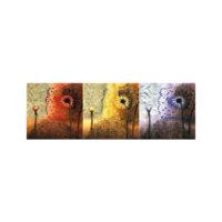 ARTİKEL Light It Up 3 Parça Kanvas Tablo 40x120 Cm KS-802