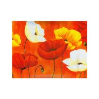 ARTİKEL Tulips 3 Parça Kanvas Tablo 70X90 Cm KS-129