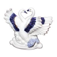 Danieli Biblo Porselen 2 li Kuş 10,5 cm