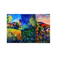ARTİKEL One is Enough 3 Parça Kanvas Tablo 70X90 Cm KS-489