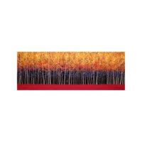 ARTİKEL Red Trees 3 Parça Kanvas Tablo 40x120 Cm KS-950