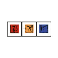 ARTİKEL Main Colors 3 Parça Kanvas Tablo 40X120 Cm KS-775
