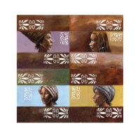 ARTİKEL Old People 4 Parça Kanvas Tablo 70x70 cm KS-798