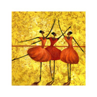 ARTİKEL Ballet 4 Parça Kanvas Tablo 70x70 cm KS-138