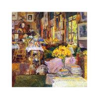 ARTİKEL The Room of Flowers 4 Parça Kanvas Tablo 70x70 cm KS-285