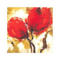 ARTİKEL Red Forest-2 4 Parça Kanvas Tablo 70x70 cm KS-174
