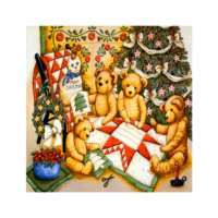 ARTİKEL New Year 4 Parça Kanvas Tablo 70x70 cm KS-183