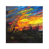 ARTİKEL California Soul 4 Parça Kanvas Tablo 70x70 cm KS-982