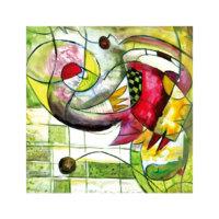 ARTİKEL Marriage 4 Parça Kanvas Tablo 70x70 cm KS-117