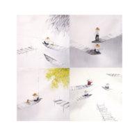 ARTİKEL Pure Life 4 Parça Kanvas Tablo 70x70 cm KS-655