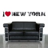 Alldeco by Akalın I Love New York I 50X70 cm Ds-Au1079